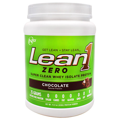 Nutrition 53 Zero Lean1 Zero - Chocolate - 15 Servings - 810033012884