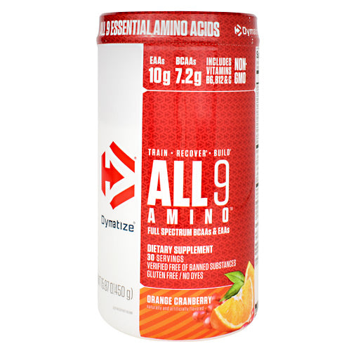 Dymatize All 9 Amino - Orange Cranberry - 30 Servings - 705016181025