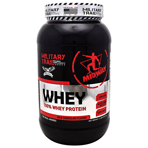 Midway Labs Military Trail Premium Supplements Whey - Milk Chocolate Flavor - 30 Servings - 813236020120