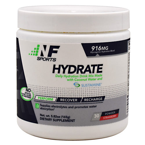 NF Sports Hydrate - Strawberry - 30 Servings - 850666007161