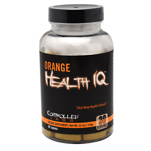 Controlled Labs Orange Health IQ - 90 Servings - 856422005471
