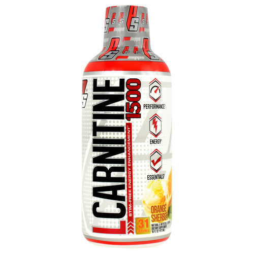 Pro Supps L-Carnitine 1500 - Orange Sherbet - 16 fl oz - 818253028166