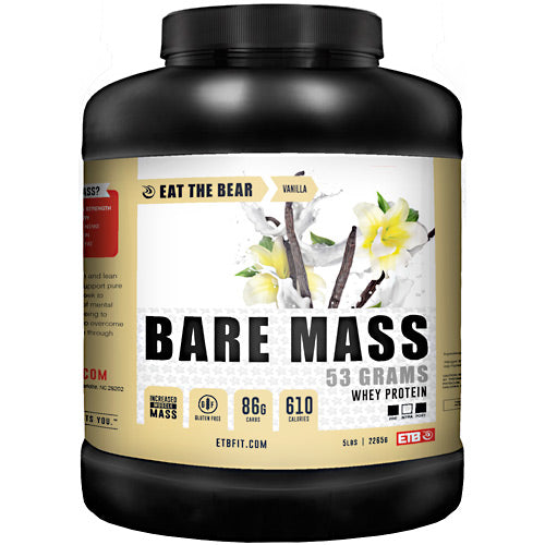 Eat The Bear Bare Mass - Vanilla - 5 lb - 637262797296