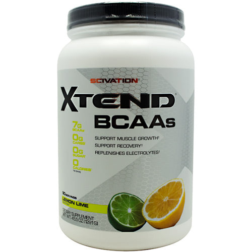 Scivation Xtend - Lemon Lime Sour - 90 Servings - 181030000229