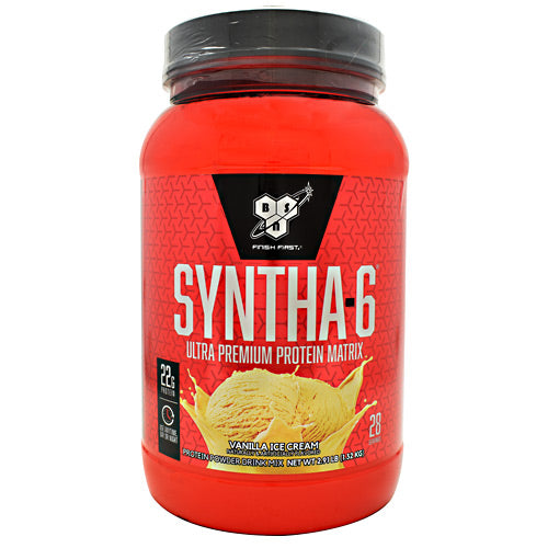 BSN Syntha-6 - Vanilla Ice Cream - 2.91 lb - 834266006106