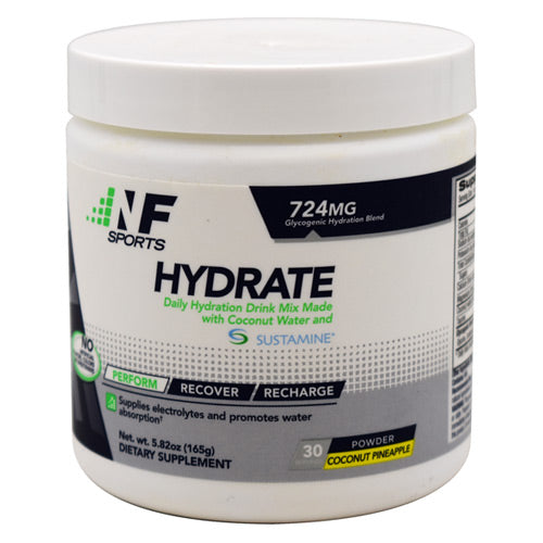 NF Sports Hydrate - Coconut Pineapple - 30 Servings - 850666007147