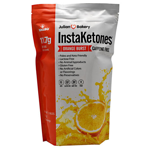 Julian Bakery InstaKetones - Orange Burst - 30 Servings - 813926004256