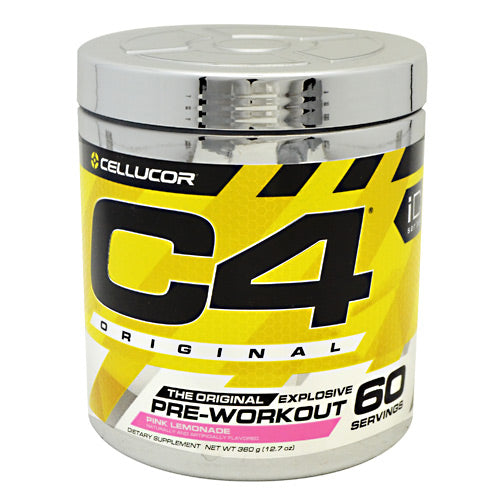 Cellucor iD Series C4 - Pink Lemonade - 60 Servings - 810390024063