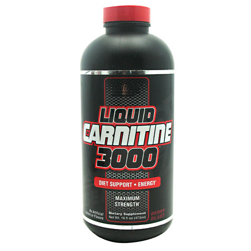 Nutrex Liquid Carnitine 3000 - Berry Blast - 16 fl oz - 857268005410