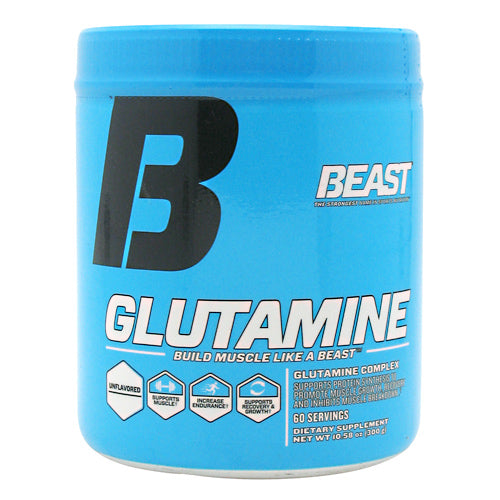 Beast Sports Nutrition Glutamine - Unflavored - 60 Servings - 631312809014
