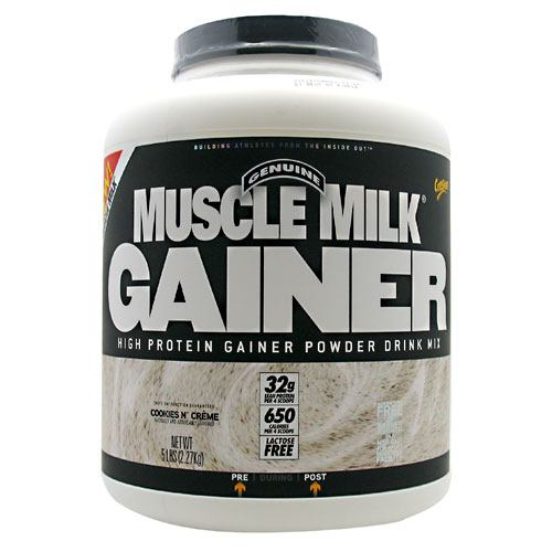 CytoSport Muscle Milk Gainer - Cookies n Creme - 5 lb - 660726500040