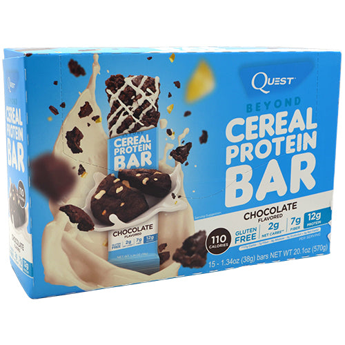 Quest Nutrition Beyond Cereal Protein Bar - Chocolate - 15 Bars - 888849004928