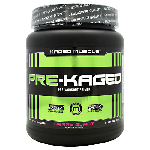 Kaged Muscle Pre-Kaged - Berry Blast - 20 Servings - 852253007998