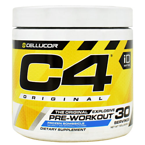 Cellucor iD Series C4 - Frozen Bombsicle - 30 Servings - 842595107968