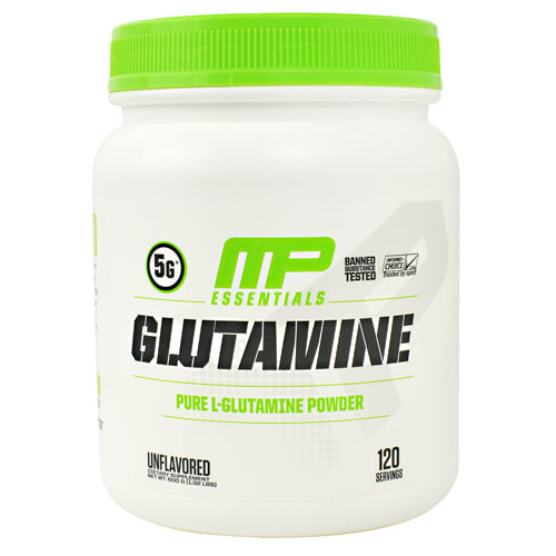 MusclePharm Essentials Glutamine - Unflavored - 120 Servings - 851387008222