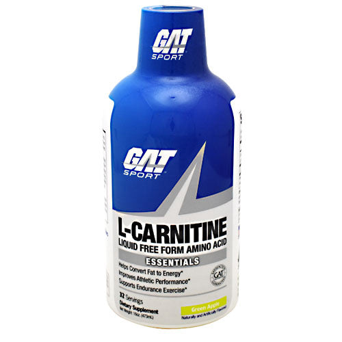 GAT L-Carnitine - Green Apple - 32 Servings - 859613000446