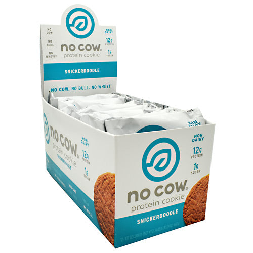 No Cow No Cow Protein Cookie - Snickerdoodle - 12 ea - 852346005733