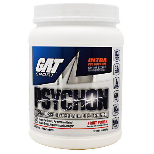 GAT Psychon - Fruit Punch - 20 Servings - 816170021796