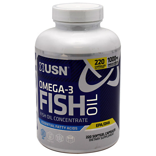 Usn Omega-3 Fish Oil - 220 Capsules - 6009544905905