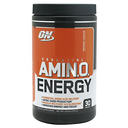 Optimum Nutrition Essential Amino Energy - Orange Cooler - 30 Servings - 748927025255