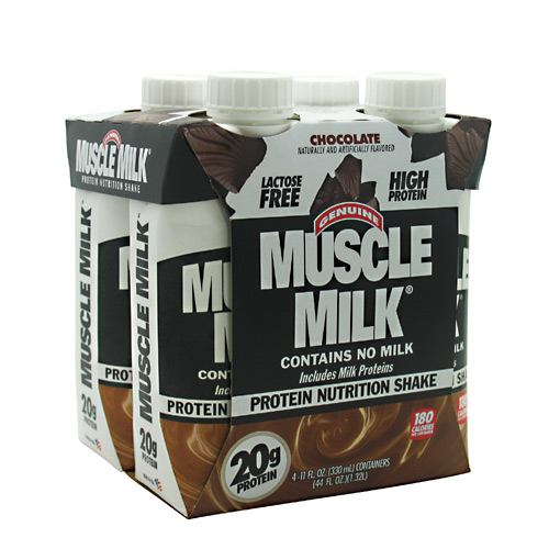 Cytosport Muscle Milk RTD - Chocolate - 12 ea - 00876063003810