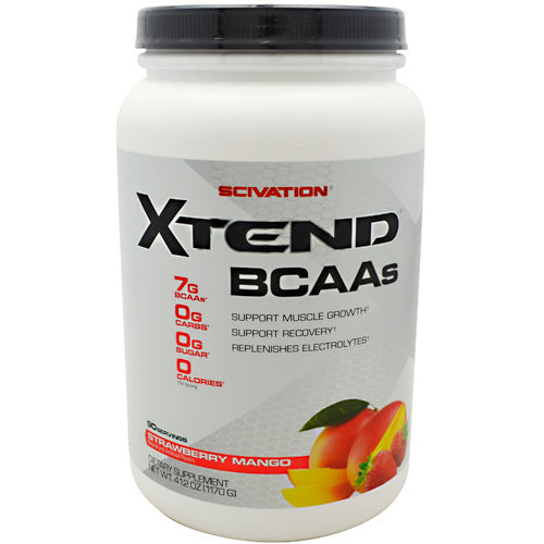 Scivation Xtend - Strawberry Mango - 90 Servings - 812135021634