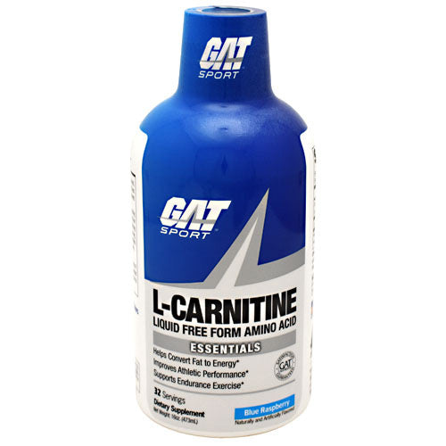 GAT L-Carnitine - Blue Raspberry - 32 Servings - 859613000422