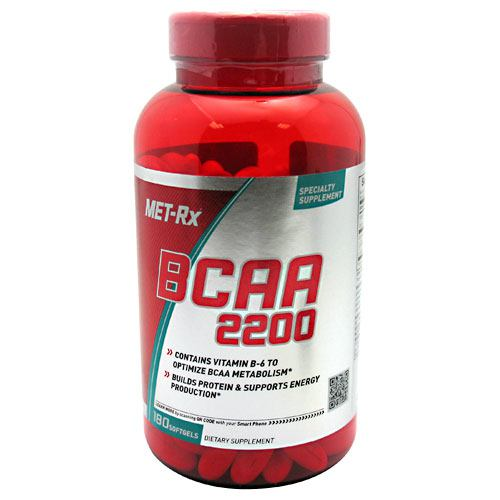 Met-Rx USA BCAA 2200 - 180 Capsules - 786560172974
