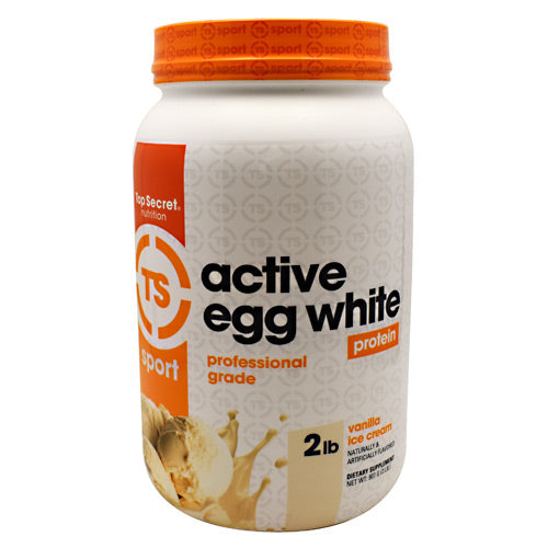 Top Secret Nutrition Sport Active Egg White - Vanilla Ice Cream - 29 Servings - 811226021607