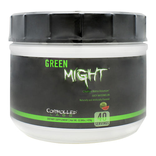 Controlled Labs Green Might - Juicy Watermelon - 40 Servings - 856422005839
