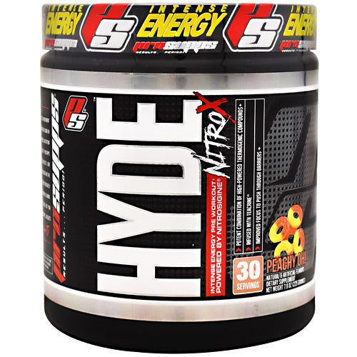 Pro Supps Hyde Nitro X - Peachy Oh! - 30 Servings - 818253022379