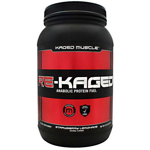Kaged Muscle Re-Kaged - Strawberry Lemonade - 20 Servings - 094393450641