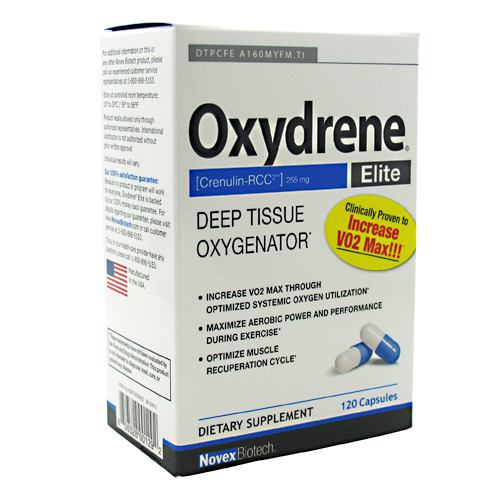 Basic Research Oxydrene - 120 Capsules - 856528001292