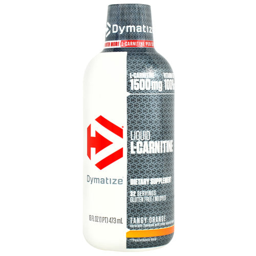 Dymatize Liquid L-Carnitine - Tangy Orange - 16 fl oz - 705016473182