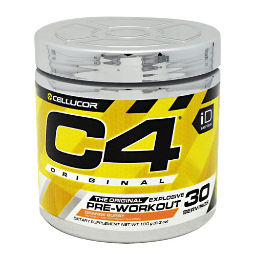 Cellucor iD Series C4 - Orange Burst - 30 Servings - 810390028412