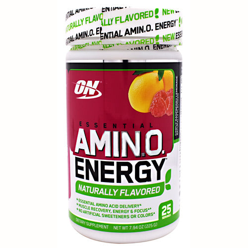 Optimum Nutrition Free Essential Amino Energy - Simply Raspberry Lemonade - 25 Servings - 748927056136