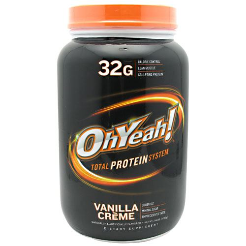 ISS OhYeah! Protein Powder - Vanilla Creme - 2.4 lb - 788434111270