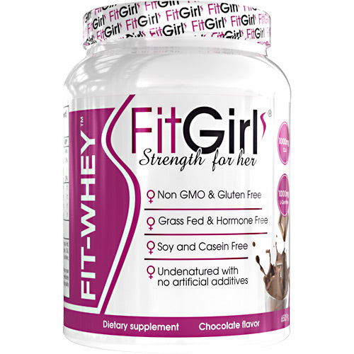 Fit Girl Fit-Whey - Chocolate - 23 Servings - 895524000991
