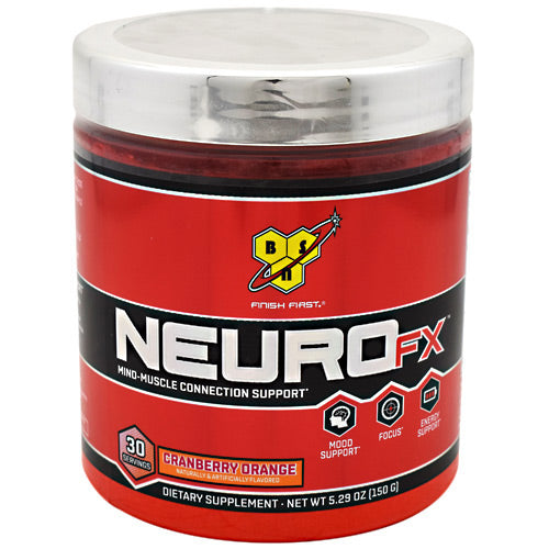 BSN Neuro FX - Cranberry Orange - 30 Servings - 834266001460