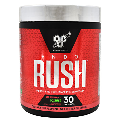BSN Endorush - Strawberry Kiwi - 30 Servings - 834266007639