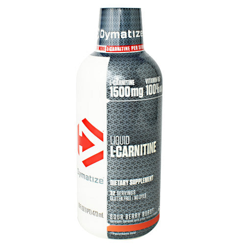 Dymatize Liquid L-Carnitine - Sour Berry Burst - 16 fl oz - 705016473175