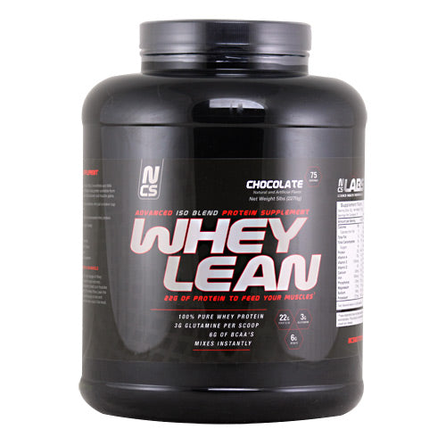 NCS Labs Whey Lean - Chocolate - 5 lb - 700997876878