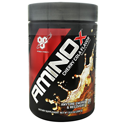 BSN Soda Flavor Series AMINOx - Cherry Cola - 20 Servings - 834266008148