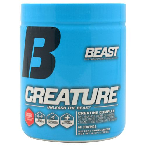 Beast Sports Nutrition Creature - Cherry Limeade Flavor - 60 Servings - 631312801117