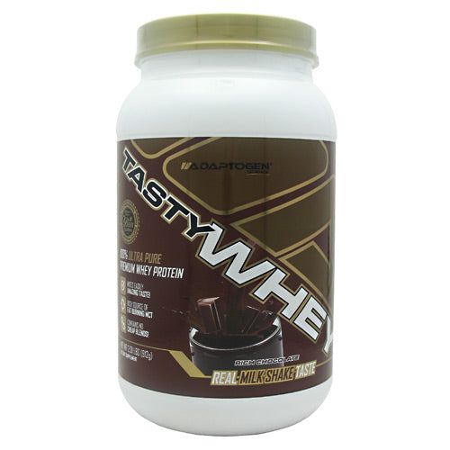Adaptogen Science Tasty Whey - Rich Chocolate - 2 lb - 612524152112