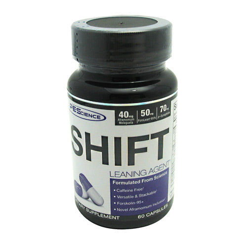 PEScience Shift - 60 capsules - 30 Servings - 040232199035