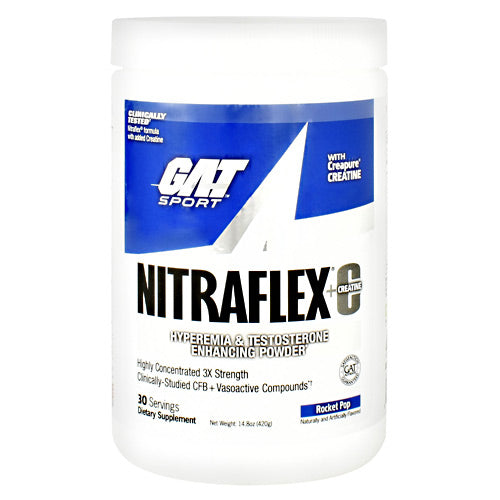 GAT Nitraflex + Creatine - Rocket Pop - 30 Servings - 816170022250