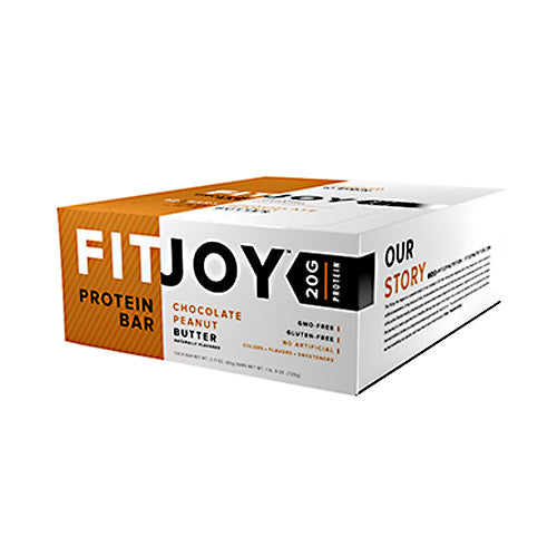 FitJoy Nutrition FitJoy Bar - Chocolate Peanut Butter - 12 Bars - 810390028153