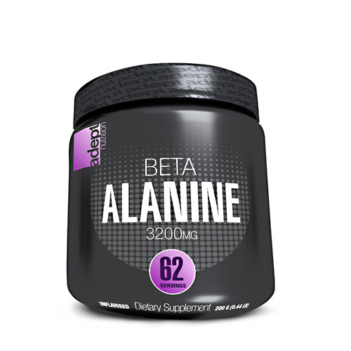 Adept Nutrition Beta Alanine - Unflavored - 62 Servings - 850850003269
