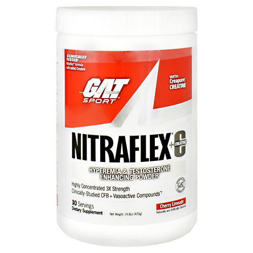 GAT Nitraflex + Creatine - Cherry Limeade - 30 Servings - 816170022243